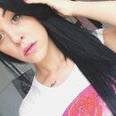 straight hair & sweet lipd