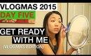 VLOGMAS 2015: DAY 5 ❆ GET READY WITH ME   yummiebitez