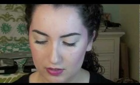 Spring Bold Lip/Kimbra 'Cameo Lover' Music Video Inspired Makeup Tutorial!