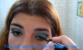Blue&Black Make Up
