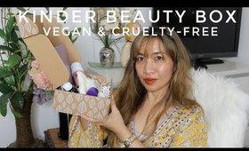 KINDER BEAUTY APRIL BOX | VEGAN & CRUELTY FREE |Thefabzilla