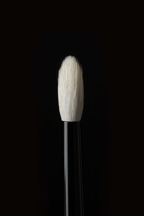 Brush 19 - The slim shape and long, wispy bristles make Brush 19 a must-have tool for precise blending—especially on small and hooded eyes.