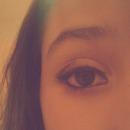 tried to do smoky eye...