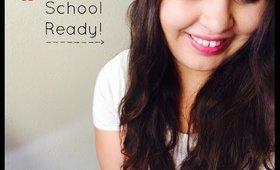 Easy back to school makeup look