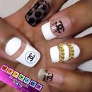 Channel Nail Art