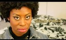 Black & Gold Makeup on Kareen!