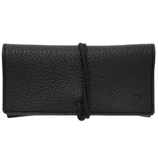 Black Calfskin Leather Case