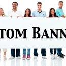 Custom Banners - Changeable Letter Banner