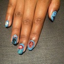 Mario/Nintendo nail art!