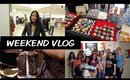 vlog | shopping & hauling, real escape, sephora event
