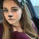 Halloween mystical Bambi
