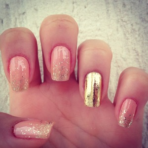 Real Gold Nails