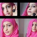 Pink Hijab Look