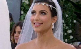 Kim Kardashian's Wedding Makeup Tutorial