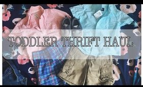 TODDLER THRIFT HAUL | VALUE VILLAGE AND MORE..