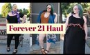 PLUS SIZE FASHION TRY ON HAUL LOOKBOOK 2017 | Forever 21, Victoria Beckham & Holographic Leggings