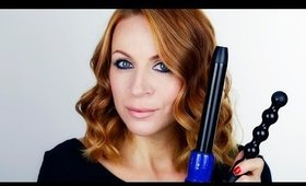 Lovely Curls With Irresistible Me Sapphire 8 in 1 Curling Wand