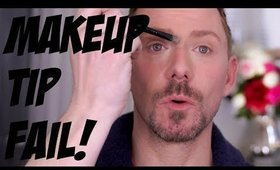 THE WORLDS MOST USELESS MAKEUP TIP! COMPLETE FAIL!