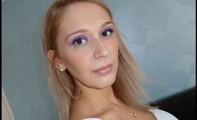 Jewelled Eyes - Entry for AleeSang's Pink/Purple Smokey Eye Makeup Contest