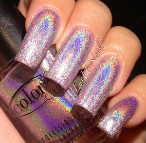a beautiful light pinkish lavender