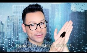 MATHIAS ALAN FOR MUSEBEAUTY.PRO- ESUM PRO FINISHING SPONGE REVIEW- mathias4makeup