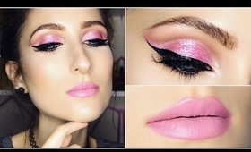 Full Glam Soft Pink Cut Crease ♥ Makeup Tutorial