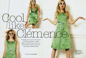 Perfect Soft Tonal Peachy Sunday Look - Clemence Poesy - By Lisa Eldridge http://claire-schultz.tumblr.com/post/17454085299/perfect-soft-tonal-peachy-sunday-look-clemence Much Love Claire xoxo