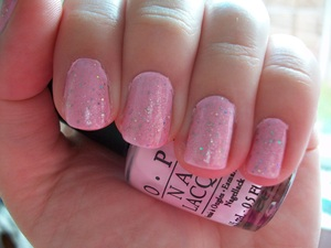 OPI Mod About You & Teenage Dream  To read my review of the polishes please visit my blog:  www.mazmakeup.blogspot.com