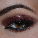 Glossy Eyes Makeup