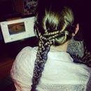 3 fish tail braid
