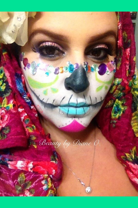 glamzy sugar skull diane os photo beautylish