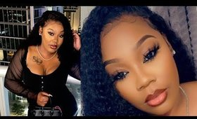Super Realistic Curly Wave Lace Front Wig Like MY OWN HAIR| West Kiss Hair
