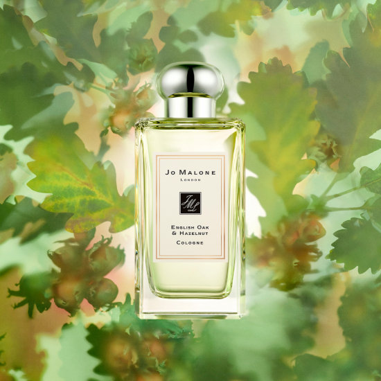 Alternate product image for English Oak & Hazelnut Cologne shown with the description.