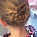 cute braid up do