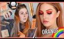 ORANGE Monochrome Makeup 🍊🌈 RAINBOW SERIES