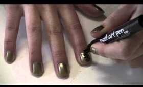 How to : cheetah/leopard print nails & toes!
