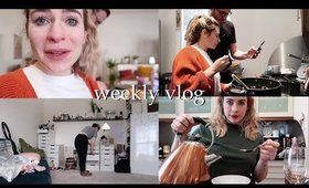 RE-ARRANGING MY OFFICE + COOKING | Weekly Vlog #146