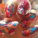 Summery Water Marble Color!!