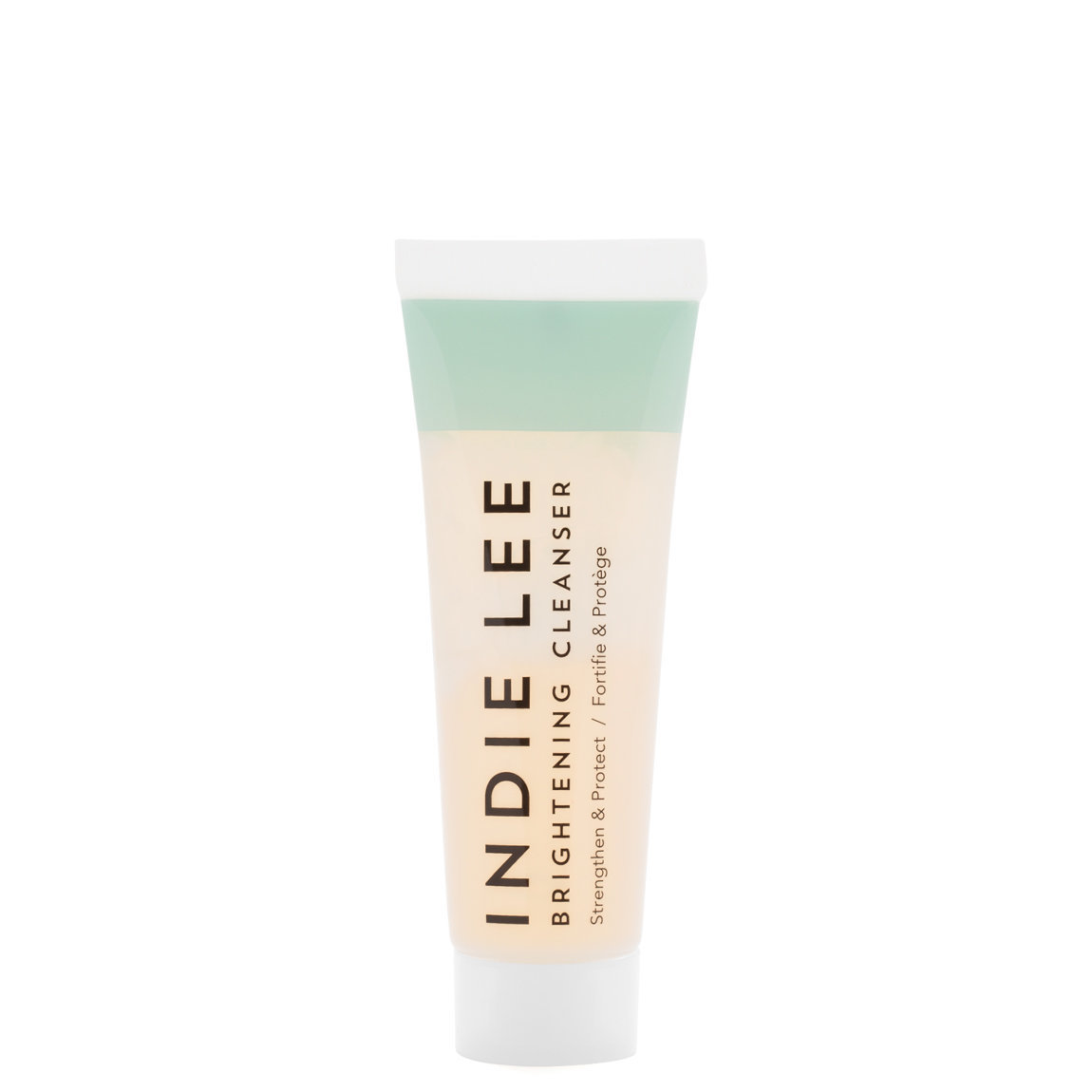 Indie Lee Brightening Cleanser 1 oz product smear.