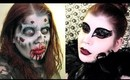 EXCLUSIVE Halloween Tutorials for Shape.com (Black Swan and Walking Dead Zombie)