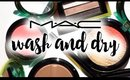 MAC Wash and Dry Review and Swatches   My Newest Addiction