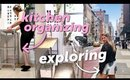 Organizing my kitchen + Exploring NYC with friends!