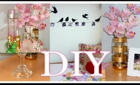 DIY ROOM DECOR - Cheap and cute LOW COST IDEAS!!