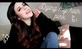 Dying My Hair Pink | How I Did It