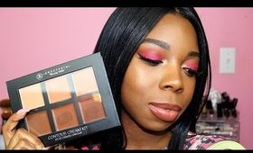 How To: Highlight and Contour |  Anastasia Beverly Hills Contour Cream Kit First Impressions