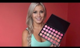 Sedona Lace 28 Blush Palette Review+ Giveaway (CLOSED)