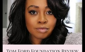 Tom Ford Waterproof Foundation & Concealer Review