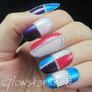 Read the blog post at http://glowstars.net/lacquer-obsession/2014/02/by-protecting-my-heart-truly-i-got-lost-in-the-sounds/
