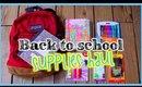 Back to School Supplies Haul 2014