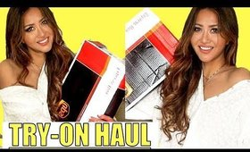 🔴 HUGE SPRING Clothing HAUL with TRY-ON -2018 🔴MW Hairstyles